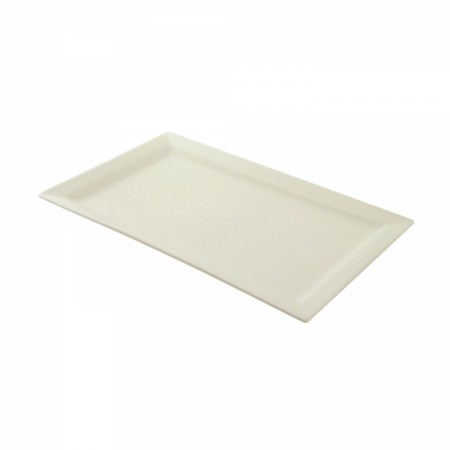 "10 Strawberry Street WTR-17-11REC Whittier Rectangular Platter 17-3/4"" x 10-5/8"""
