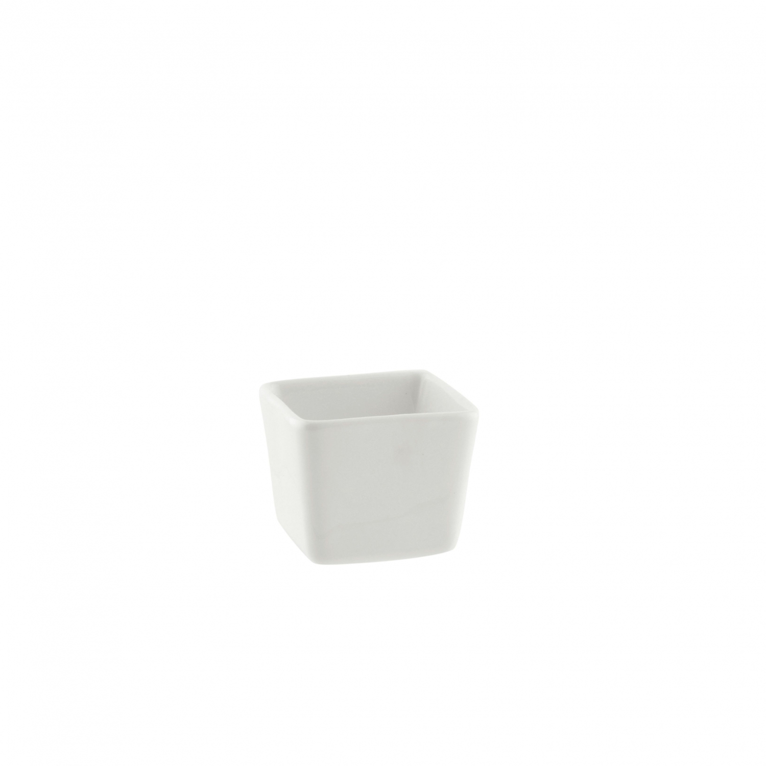 10 Strawberry Street WTR-2SQTBBWL Whittier Square Tid Bit Bowl 2 oz.