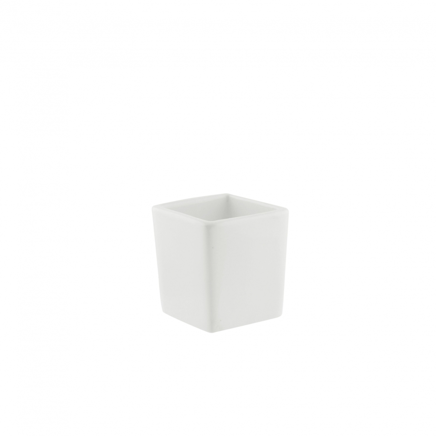10 Strawberry Street WTR-2SQTBBWLTALL Whittier Tall Square Tid Bit Bowl 3 oz.