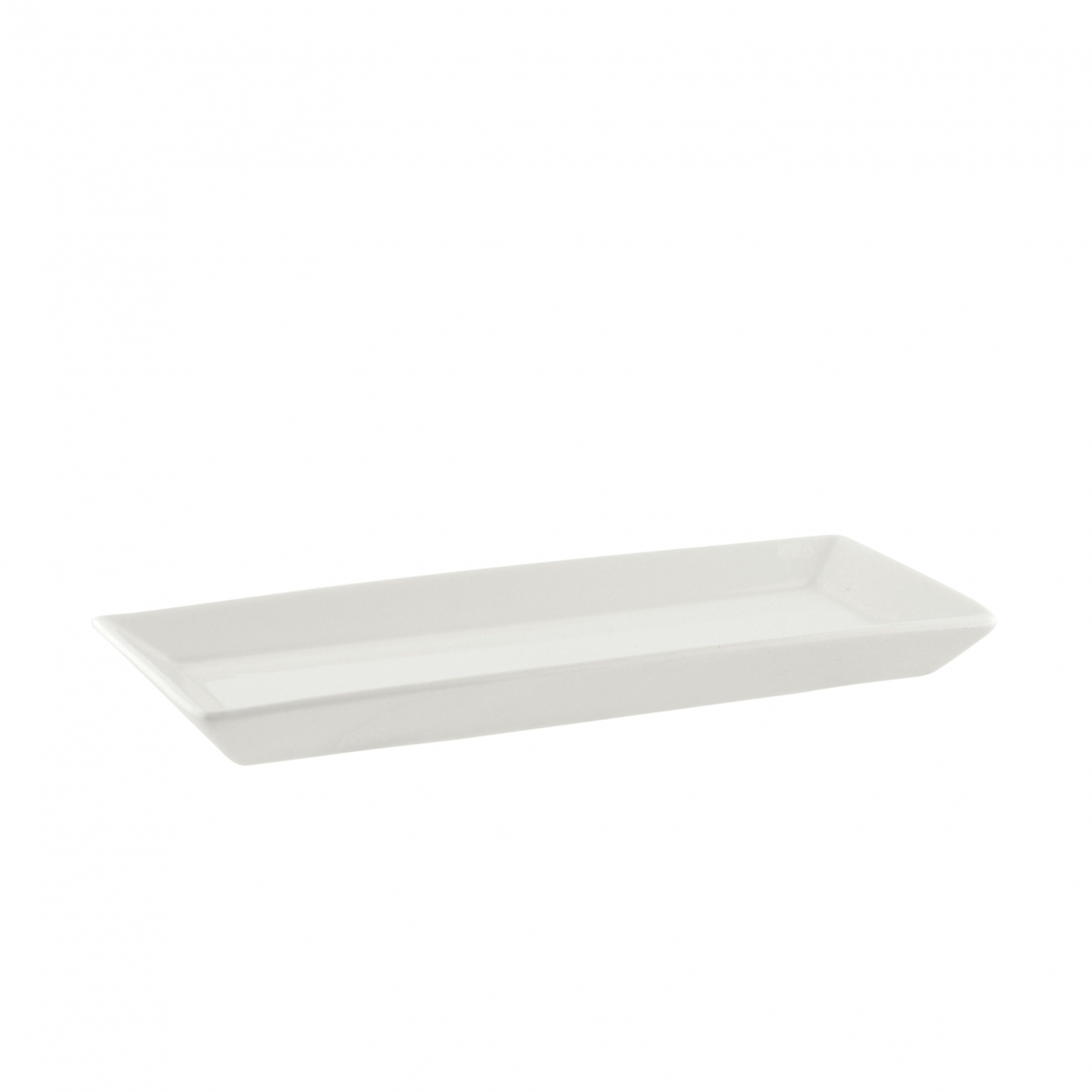 "10 Strawberry Street WTR-37REC Whittier Rectangular Platter 6-3/4"" x 2-3/4"""