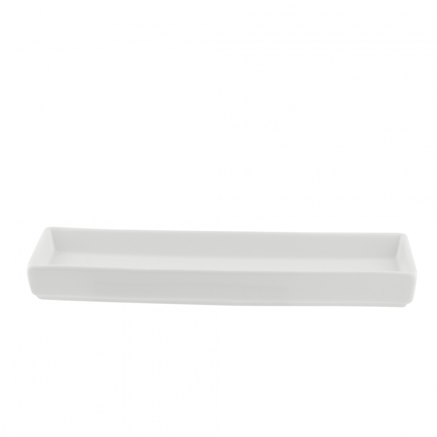 "10 Strawberry Street WTR-39RECDSH Whittier Rectangular Platter 2-3/4"" x 9-3/4"""