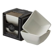 10 Strawberry Street WTR-5SQBWL-BOX-2 Square Bowl 12 oz.