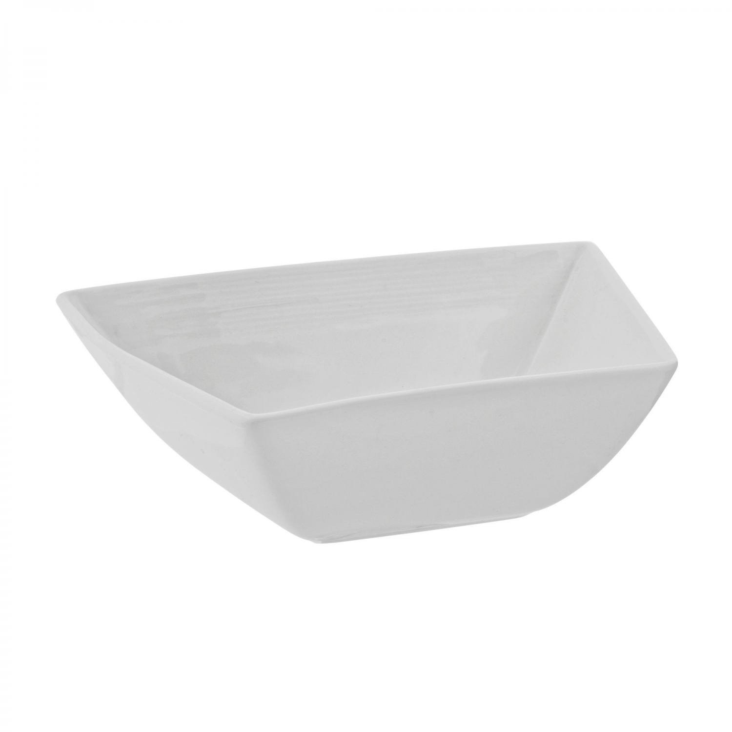 10 Strawberry Street WTR-5ZENBWL 24 oz. Whittier Zen Trapezoid Cereal Bowl - 24 pcs