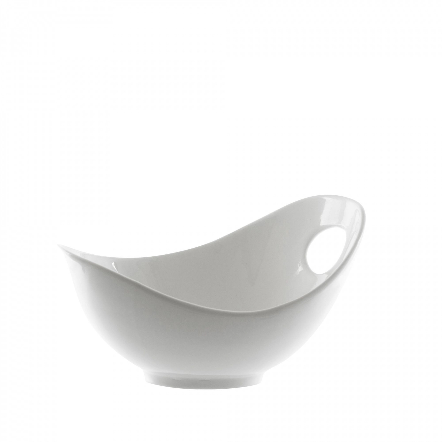 10 Strawberry Street WTR-7FBWL Whittier Fruit Bowl with Cut Out 8 oz.