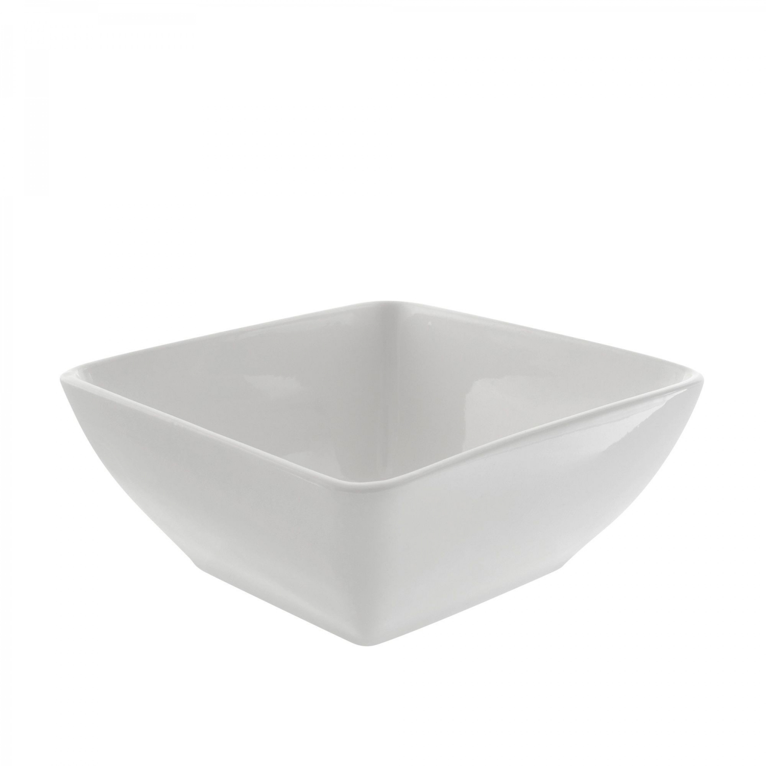 10 Strawberry Street WTR-7SQBWL Whittier Square Rimless Bowl 24 oz.