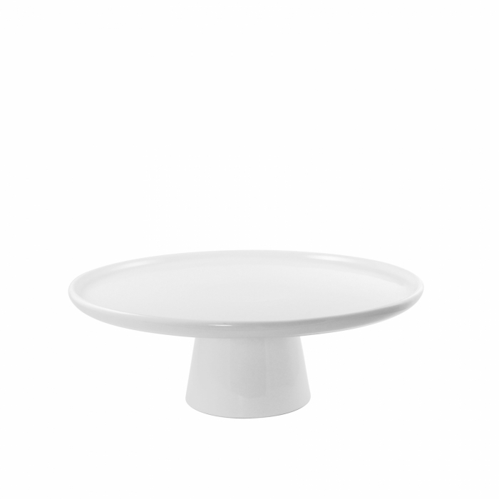 10 Strawberry Street WTR-8CAKESTND Whittier Cake Stand with Foot 8""