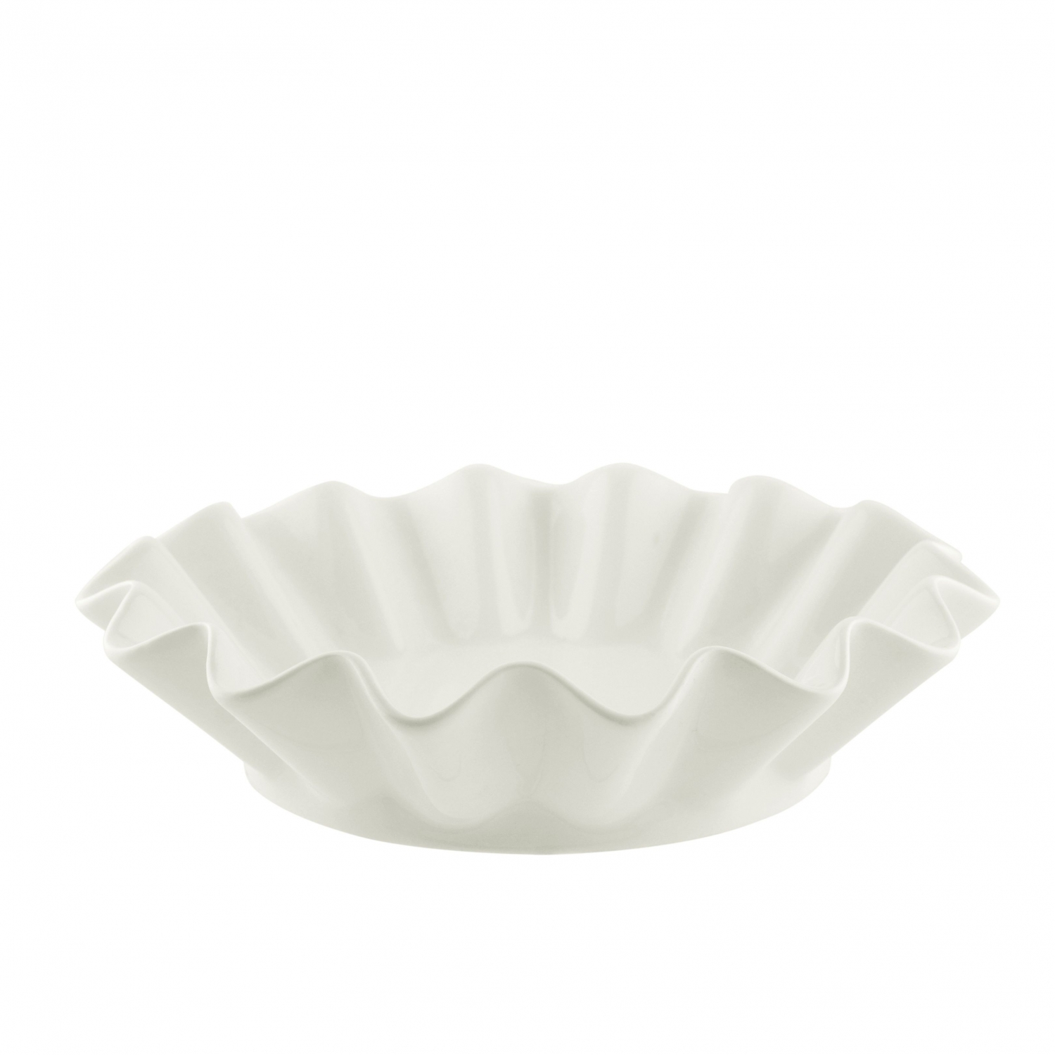 10 Strawberry Street WTR-8RFLBWL Whittier Ruffled Bowl 8 oz.