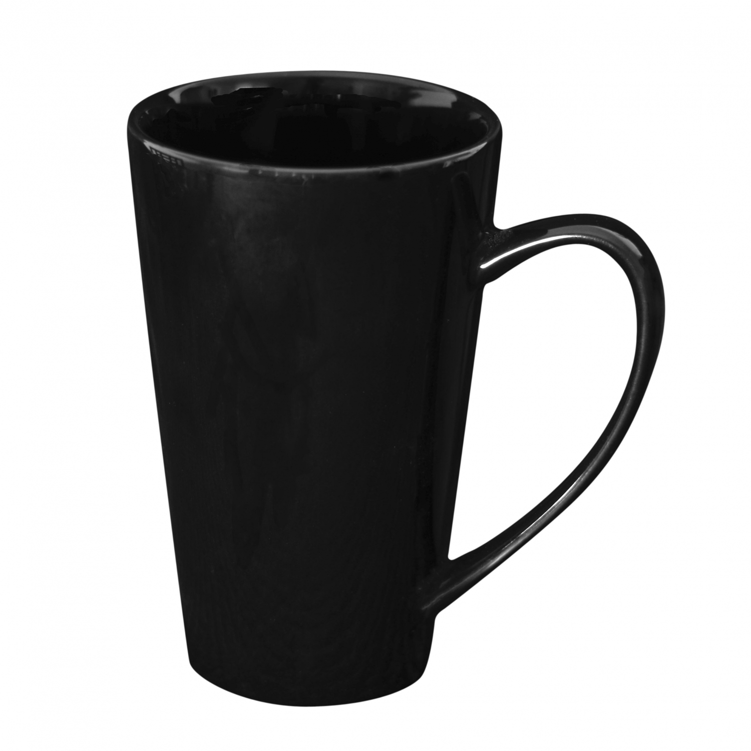 10 Strawberry Street XLMUG-BLK 24 oz. Black Oversized Latte Mug - 12 pcs