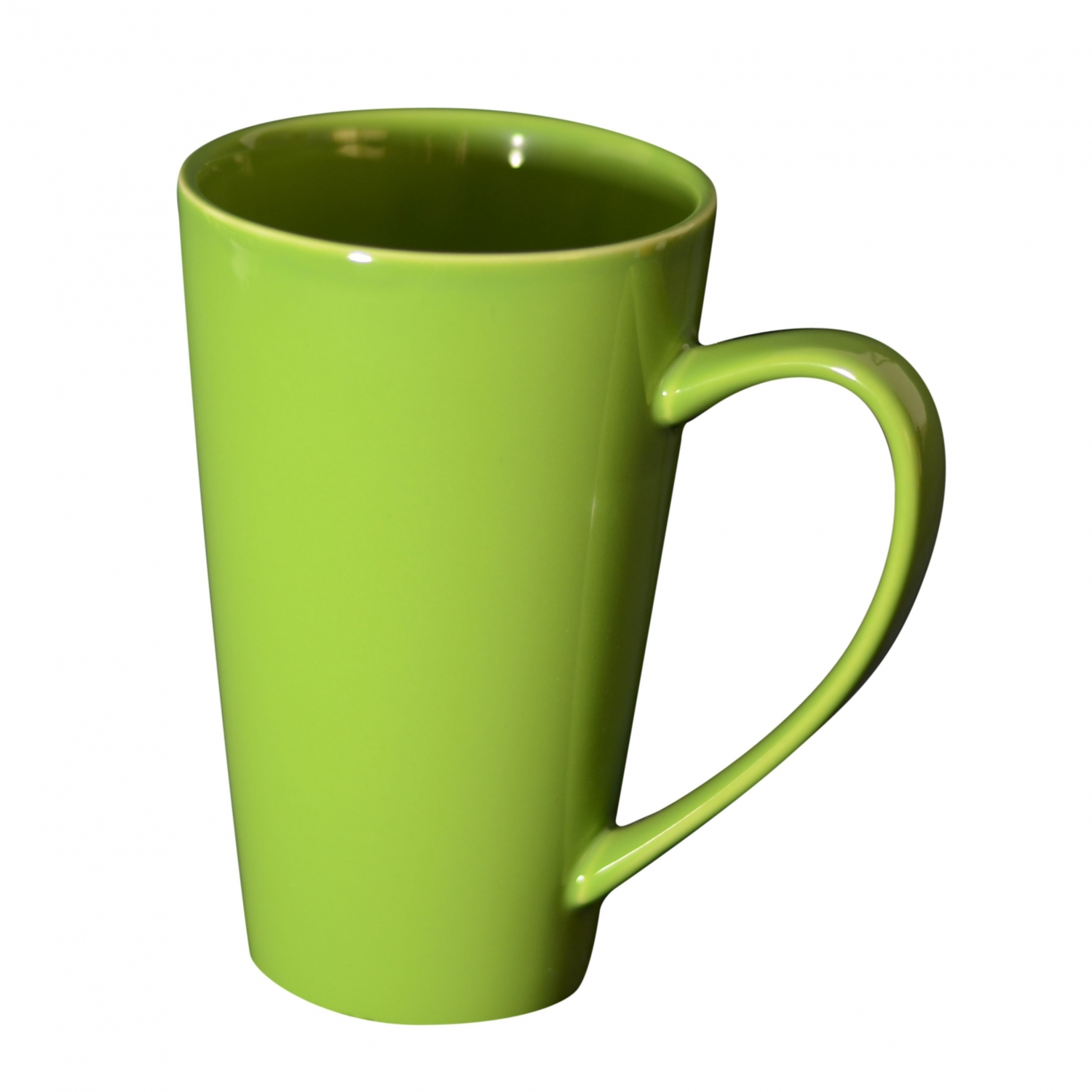 10 Strawberry Street XLMUG-GRN 24 oz. Green Oversized Latte Mug - 12 pcs