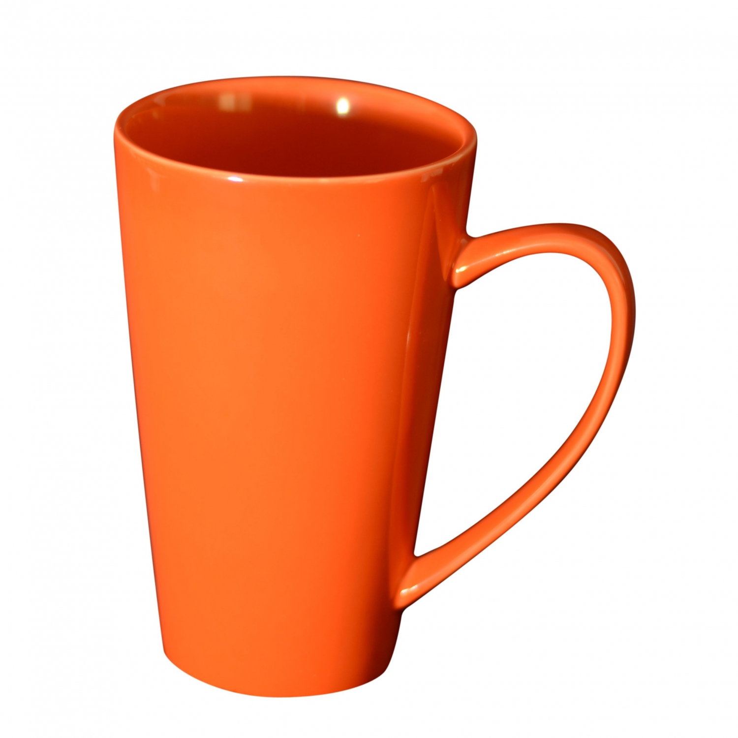 10 Strawberry Street XLMUG-ORG 24 oz. Orange Oversized Latte Mug - 12 pcs