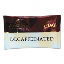 Day To Day 100% Pure Coffee, Decaffeinated, 1.5 oz. Pack, 42 Packs/Carton