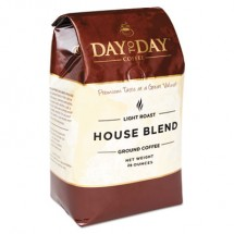 Day To Day 100% Pure Coffee, House Blend, Ground, 28 oz. Bag, 3/Pack
