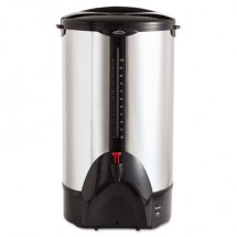 Coffee Pro Stainless Steel 100-Cup Percolating Urn