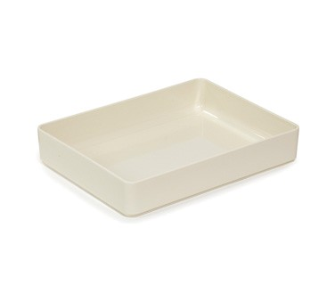 GET Enterprises ML-86-IV Milano Ivory Rectangular Bowl 7.6 Qt.