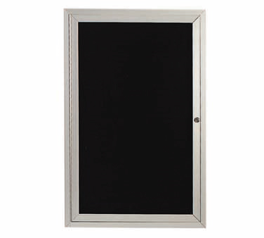 "Aarco Products ADC2418L Enclosed Aluminum Directory Board, 24""H x 18""W"