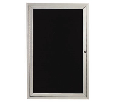 """Aarco Products ADC3624L Enclosed Aluminum Directory Board, 36""""H x 24""""W"""
