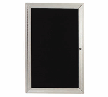 "Aarco Products ADC3624L Enclosed Aluminum Directory Board, 36""H x 24""W"
