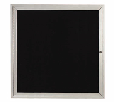 "Aarco Products ADC3636L Enclosed Aluminum Directory Board, 36""H x 36""W"