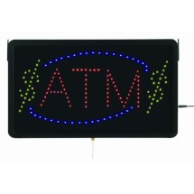 "Aarco Products ATM10L High Visibility LED ATM Sign , 13""H x 22""W"