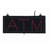 "Aarco Products ATM10S High Visibility LED ATM Sign , 6-3/4"" H x 16-1/8"" W"