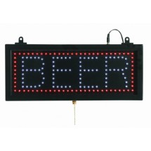 "Aarco Products BEE06S High Visibility LED BEER Sign , 6 3/4""H x 16 1/8""W"
