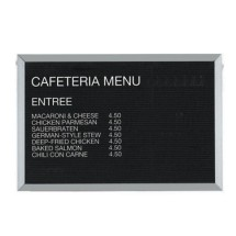 Aarco-Products-BOFD2436L-Letter-Board-Message-Center-with-Aluminum-Frame-24-quot-H-x-36-quot-W