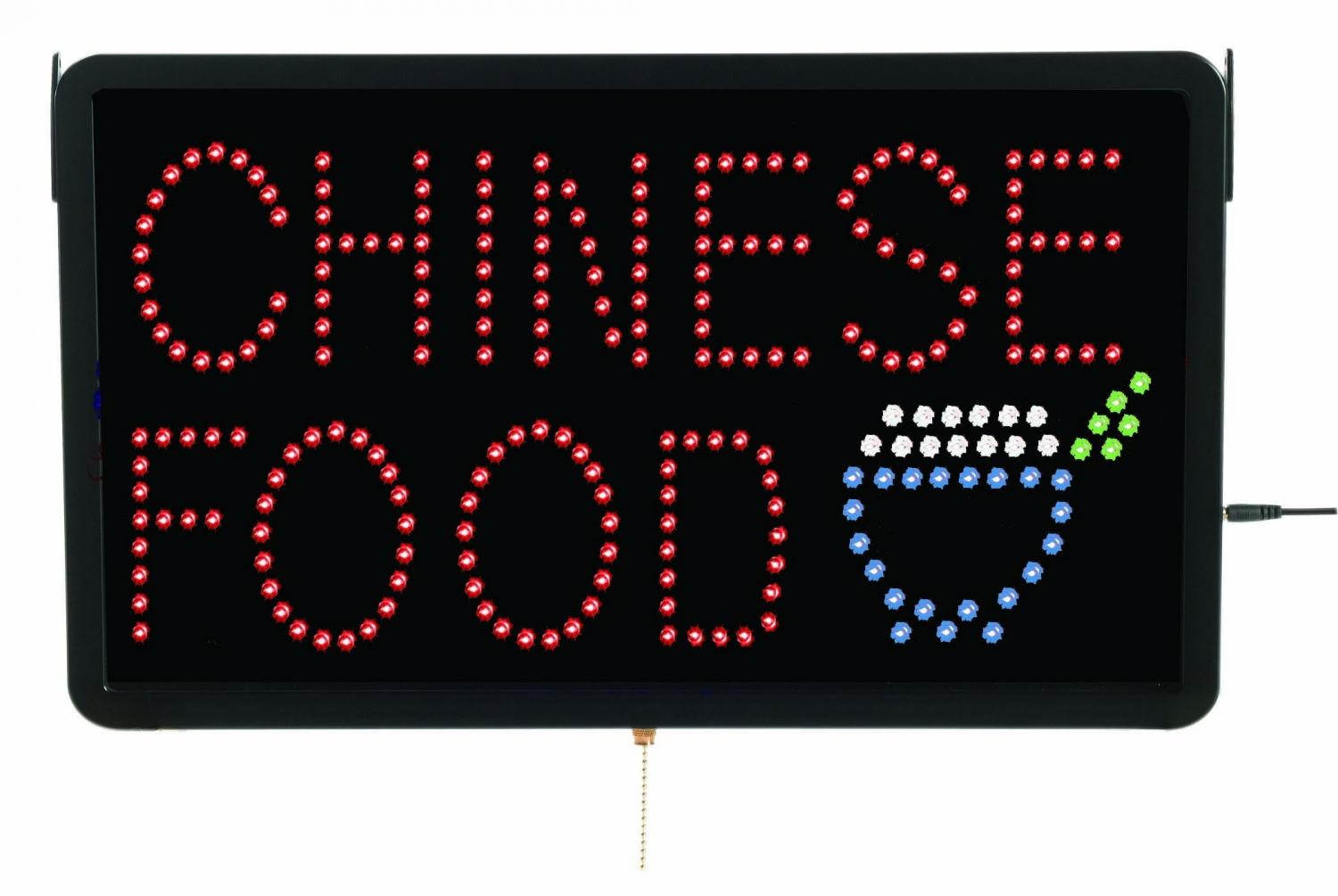 "Aarco Products CHIO9L High Visibility LED CHINESE FOOD Sign , 13""H x 22""W"