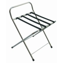 Aarco Products CLS Chrome Folding Luggage Stand