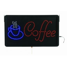 "Aarco Products COF03L High Visibility LED COFFEE Sign, 13""H x 22""W"