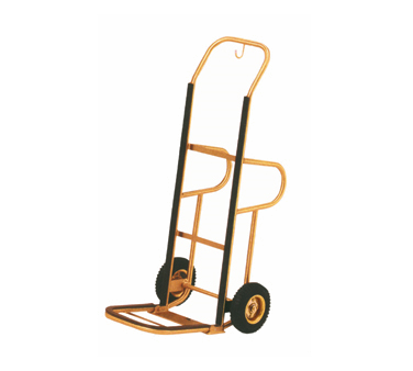 Aarco Products HT-1B Bellman's Hand Truck - Brass Finish