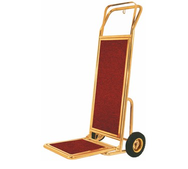 Aarco Products HT-2B Bellman's Hand Truck - Brass Finish
