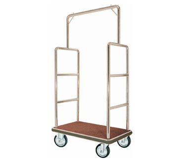 Aarco Products LC-1C Bellman's Luggage Cart- Chrome Finish