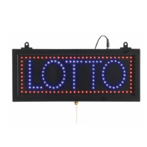 "Aarco Products LOT04S High Visibility LED LOTTO Sign , 6 3/4""H x 16 1/8""W"