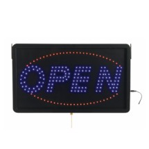 "Aarco Products OPE02L High Visibility LED OPEN Sign , 6 3/4""H x 16 1/8""W"