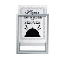 "Aarco Products OT118 Insta Frame Removable Sign and Poster System, 11""H x 8 1/2""W"