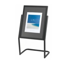 Aarco Products P-15BK Menu and Poster Holder - Black