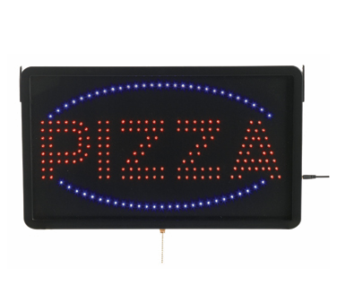"Aarco Products PIZ01L High Visibility LED PIZZA Sign , 13""H x 22""W"