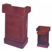 Aarco Products POD-1 Podium with Classic Cherry Finish