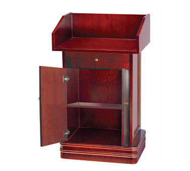 Aarco Products POD-2 Podium with Classic Cherry Finish