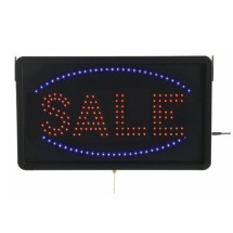 "Aarco Products SAL05L High Visibility LED SALE Sign , 13""H x 22""W"