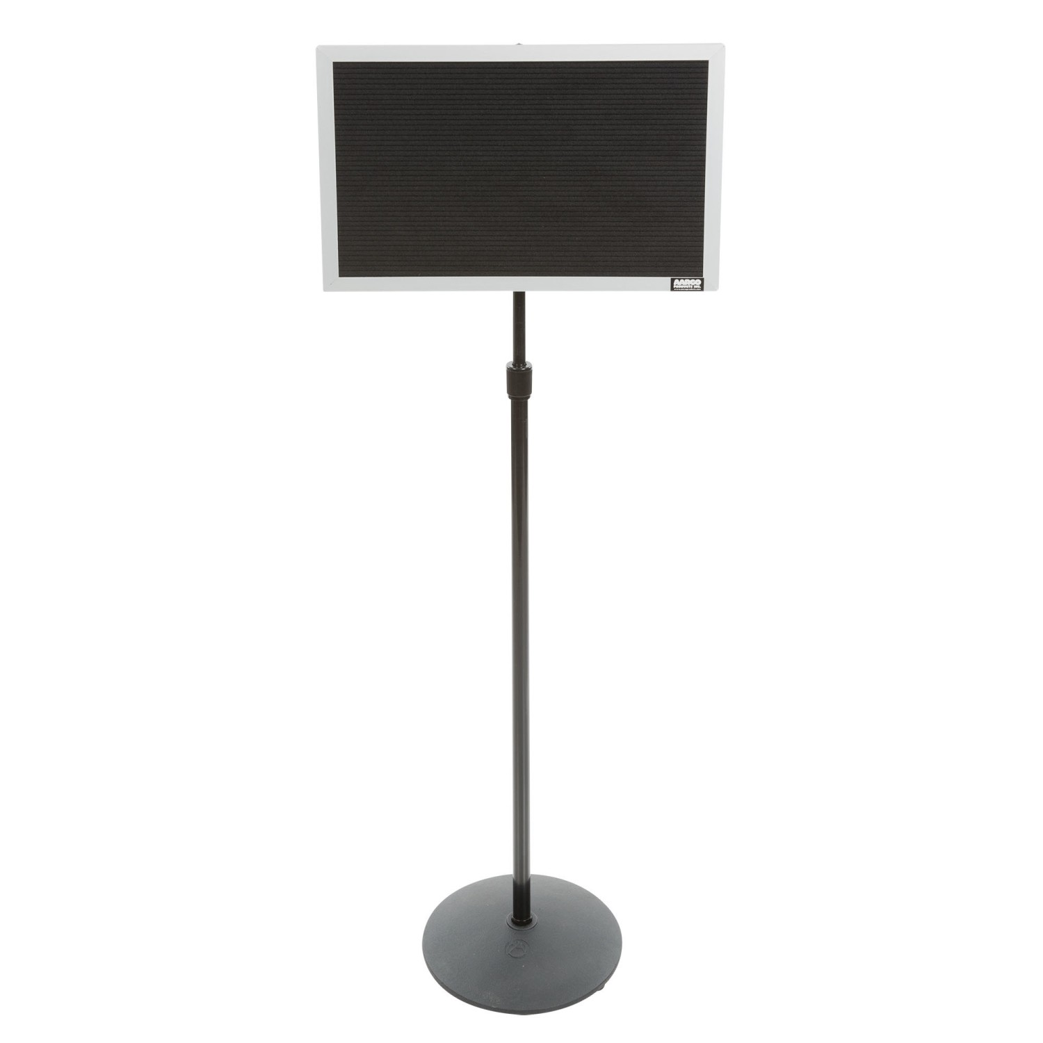 """Aarco Products SMD1218 Single Pedestal Free Standing Open Face Changeable Letter Board, 12""""H x 18""""W"""