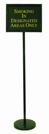 Aarco Products TY-2BK Director Sign Stand Black, 54""