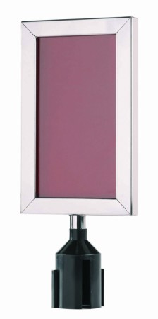 """Aarco Products VSF118S Form-A-Line Sign Frame in Satin, 11 1/8""""H x 8 5/8""""W"""