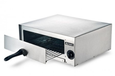 Adcraft CK-2 Countertop Stainless Steel Pizza Snack Oven, 120V, 1450W