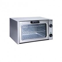 Adcraft COQ-1750W Countertop Stainless Steel Quarter Size Convection Oven, 120V, 1750W
