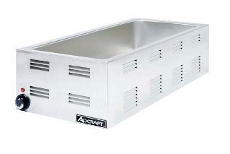 Adcraft FW-1500W Countertop 4/3 Size Food Warmer, Base Only