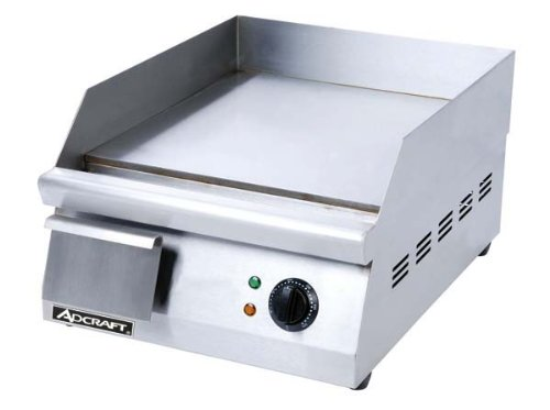 Adcraft GRID-16 Commercial Electric Flat Griddle 16