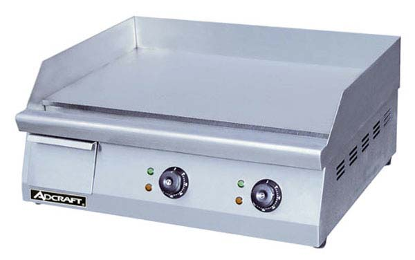 Adcraft GRID-24 Commercial Electric Flat Griddle 24