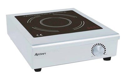 Adcraft IND-C120V Countertop Induction Cooker with Manual Controls 120V