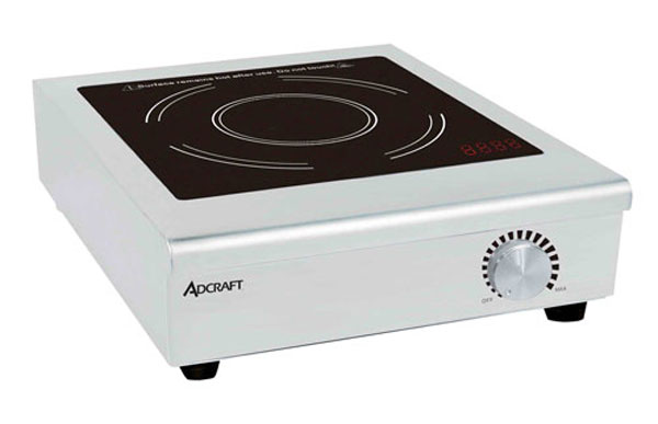 Adcraft IND-C208V Countertop Manual Control Induction Cooker 208V